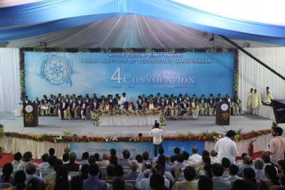 Convocation. IIT Gandhinagar'15